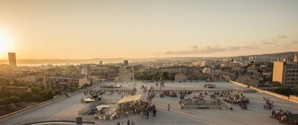 La friche Marseille rooftop