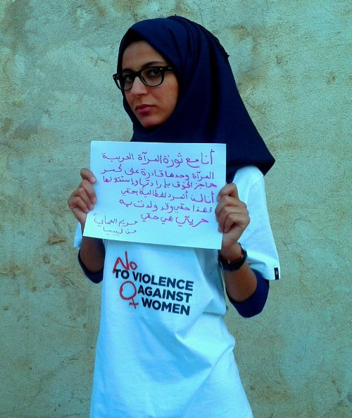 The uprising of women in the Arab world