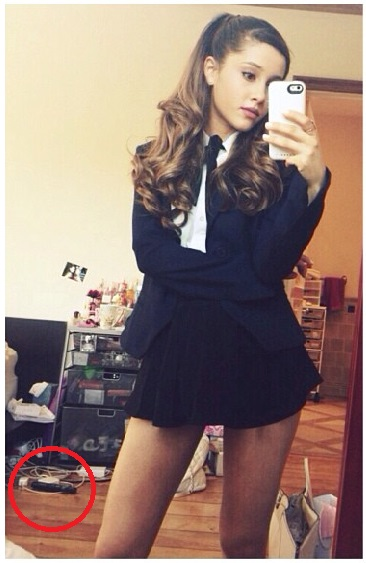 L'erreur d'Ariana Grande