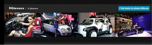 Mondial de l'auto hôtesses