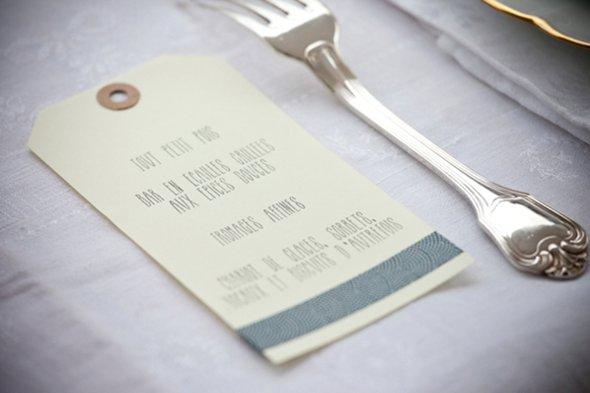 déco de table pour mariage