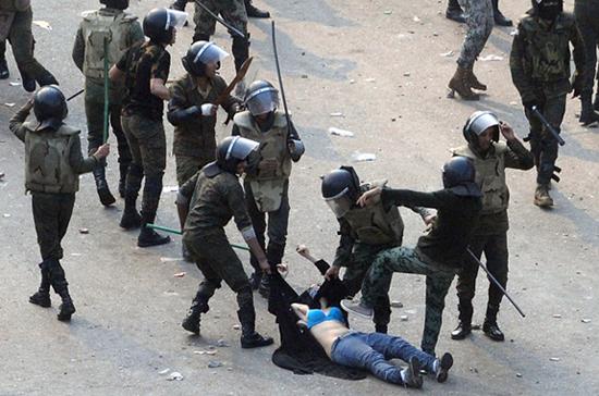 Egypte femmes armée