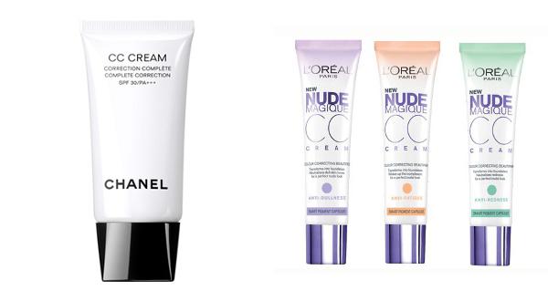 cc crème Chanel cc crème l'Oréal