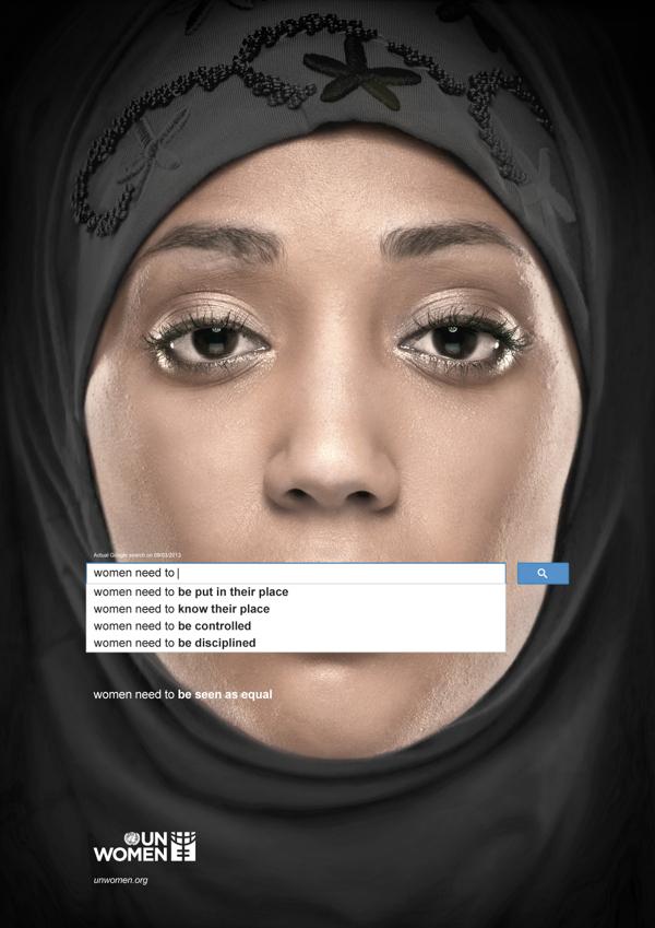 ONU Femmes campagne sexisme Google