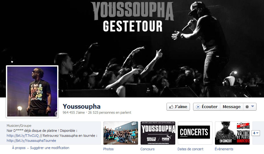 Youssoupha Facebook