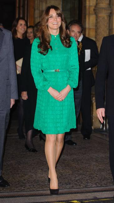 Kate Middleton vert émeraude