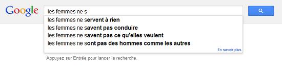 Recherche populaire Google