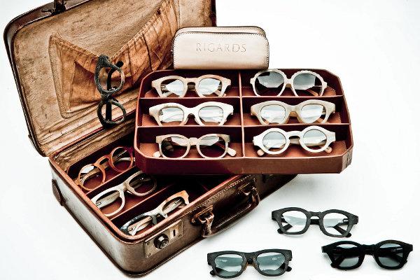 lunettes en corne de buffle Rigards